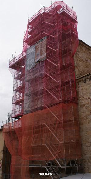 Fig. 6. Intervención visitable en la torre de Santa María la Nueva (Zamora Románica)